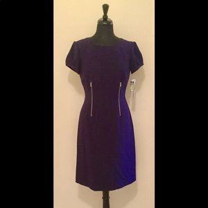 BNWT purple Tahari Dress